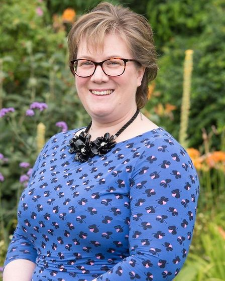 Sarah Thompson, chief executive of St Clare Hospice. Picture: ST CLARE
