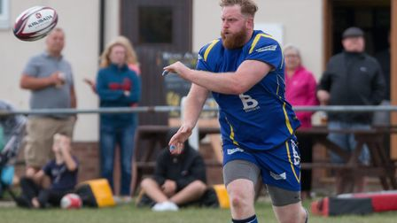 Andrew Hutchinson of St Ives during their Percy Walker Cup victory against Ely. Picture: PAUL COX