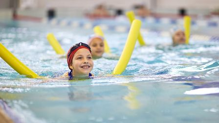 The Swim4Life scheme at One Leisure runs for 50 weeks of the year. Photo credit: Getty images.