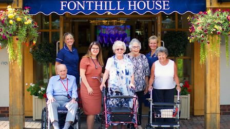 Fonthill House have been given 'outstanding' in their CQC inspection. Picture: Fonthill House