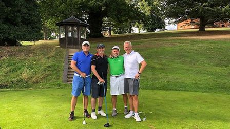 Clifford Norton, from Harpenden, Julian, from St Albans, Matt, from Markyate and Bob Hertford doing