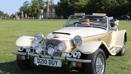 Knebworth House, Classic Car Show and Herts Motorshow. Picture: Melissa Page.