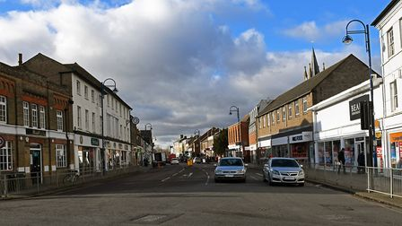 St Neots High Street. Picture: ARCHANT