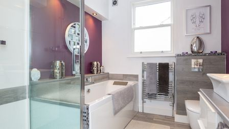 The property has a luxury bathroom suite. Picture: Collinson Hall