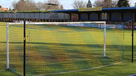 Two supporters have been banned from visiting Clarence Park, the home of St Albans City FC. Picture: