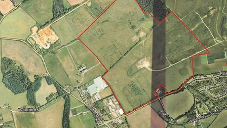 Brett Aggregates has applied to quarry Green Belt land at the former Hatfield Aerodrome site, in Col