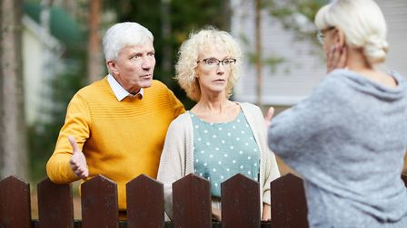 Bad feeling between neighbours can result in a lot of stress for both sides. Picture: iStock/PA