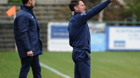 St Neots Town manager Marc Abbott. Picture: MARK RIDER