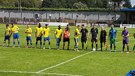 St Albans City took on Dorking Wanderers at Clarence Park in the National League South.