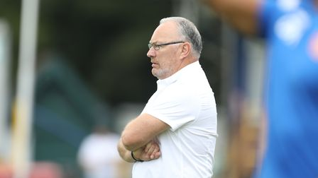 St Albans City manager Ian Allinson. Picture: TGS PHOTO