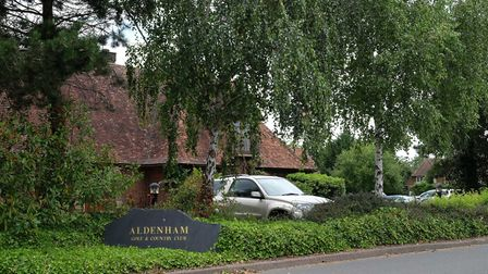 The golf club is one of Aldenham's main attractions. Picture: Danny Loo