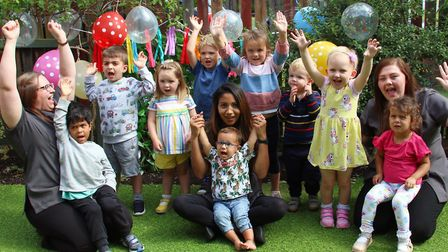 Busy Bees at St Albans Hospital received an Outstanding Ofsted report.
