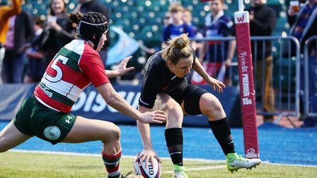 New OA Saints head coach Sarah McKenna in action for Saracens. Picture: DANNY LOO
