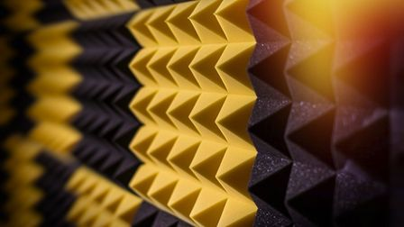 Acoustic foam will muffle any shared or party wall, giving your home super-high sound absorption wit