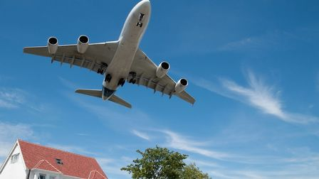 Living under a flight path makes soundproofing a necessity. Picture: iStock/PA