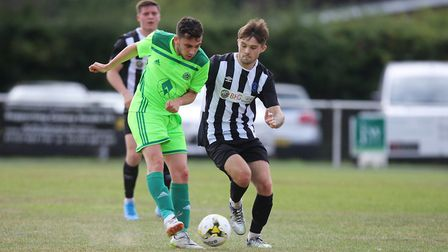 Colney Heath V London Lions - Taylor Cobb in action for Colney Heath.Picture: Karyn Haddon