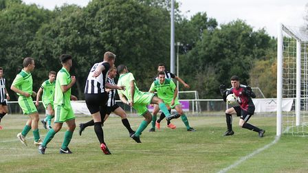 Colney Heath V London Lions - Jon Clements in action for Colney Heath.Picture: Karyn Haddon