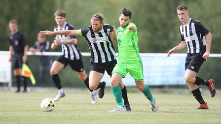 Colney Heath V London Lions - Spencer Clarke-Mardel in action for Colney Heath.Picture: Karyn Had