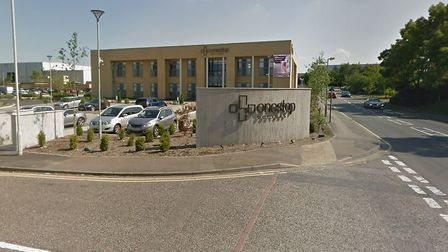 OSD Healthcare in Hemel Hempstead was evacuated yesterday. Picture: Google Maps