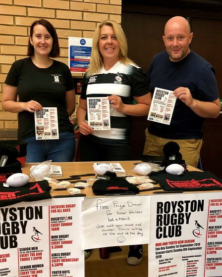 The Royston Rethink Mental Illness Peer Support Group hosted a family fun day at Coombes Community o