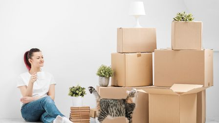 Time to make a move? Turns out summer is the most popular season to move house. Picture: Getty Image