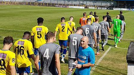 St Albans City hosted Concord Rangers at Clarence Park in the National League South.