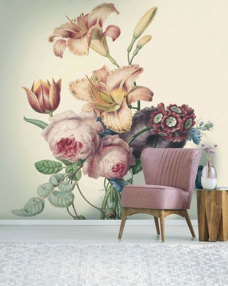 What's Hot: Abundance Wallpaper Mural, £245, Woodchip & Magnolia. Picture: Woodchip & Magnolia/PA