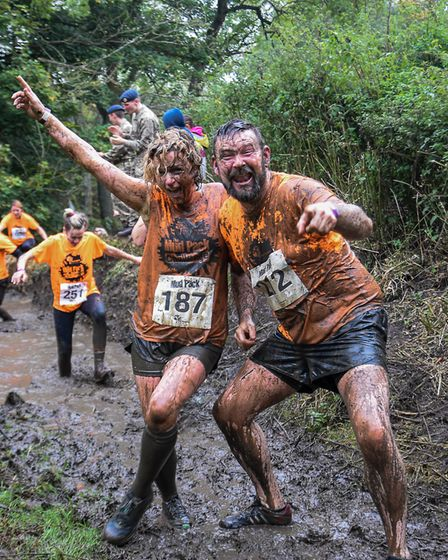 St Albans business Blanco UK are taking part in a Mud Pack Challenge. Picture: Hospice of St Francis