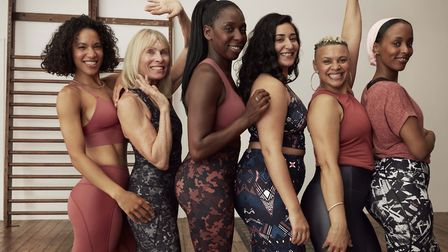All of the women in Sweaty Betty's new international advertising campaign. Two of them are from St A