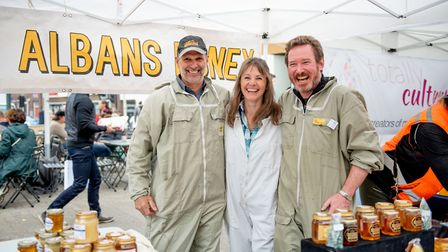 St Albans Beekeepers will be appearing at the Food and Drink Festival.