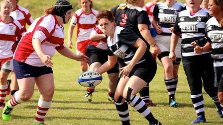 Royston Rugby Club's ladies began their new season with a fine win over Wellingborough. Picture: RUS