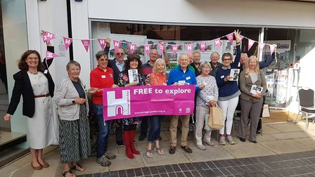 The launch of Heritage Open Days 2019 in St Albans. Picture: Tim Boatswain