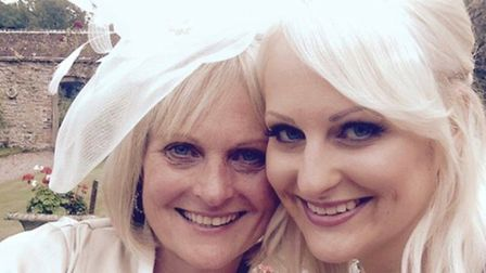 Beccy Ranoble and mum Paula Noble. Picture: Beccy Ranoble
