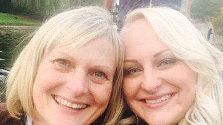 Paula Noble and daughter Beccy Ranoble. Picture: Beccy Ranoble