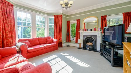 Period features include high ceilings, ornate cornicing and open fireplaces. Picture: Strutt & Parke