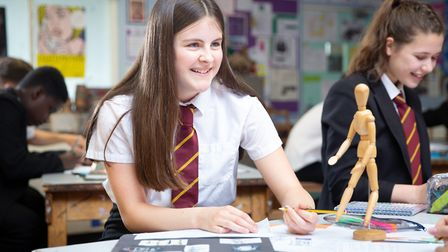 Bassingbourn Village College has an Ofsted rating of 'good'. Photo credit: Bassingbourn Village Coll