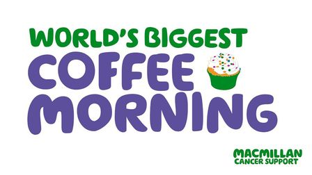 Are you holding a Macmillan Coffee Morning?