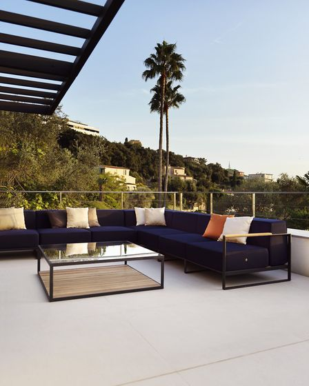Swedish sophistication: Roshults Garden Moore Sofa available through Chaplins. Prices from 6,543, ww