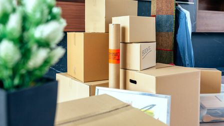 If your move is temporary then you may need to put some of your stuff into storage. Picture: Getty I
