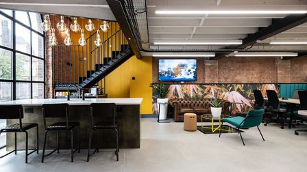 Award nominated: BubbleHUB co-working space on Stonecross, St Albans. Picture: Mark Sims Photography