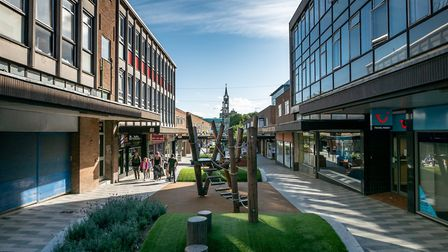 The New Town offers plenty of shopping opportunities. Picture: DANNY LOO