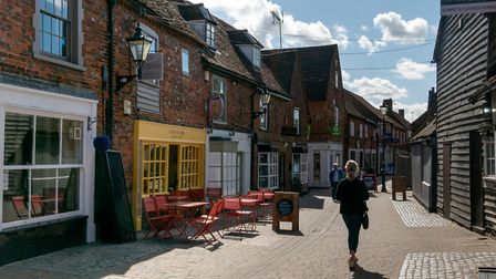 Stevenage Old Town. Picture: DANNY LOO