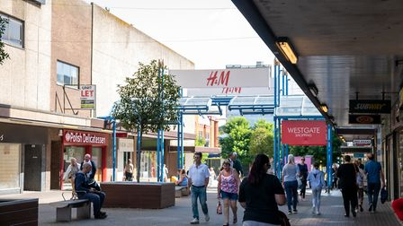 H&M, River Island and Miss Selfridge are some of the high street shops on offer at the Westgate shop