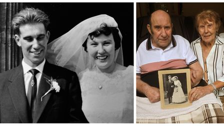 Leonard and Joan celebrated their 60th wedding anniversary at the weekend. Picture: Alan Millard