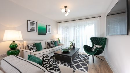 The 11 apartments at St Albans Square are priced from £475,000. Picture: Osprey Homes