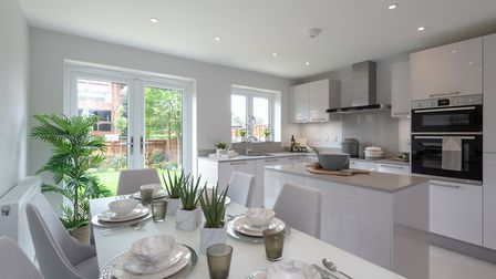 The three houses at St Albans Square have already been reserved. Picture: Osprey Homes