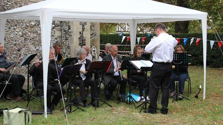 Bassingbourn Village Band. Picture: St Peter & St Paul, Bassingbourn