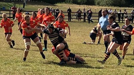 Old Albanian Saints enjoyed a great start to their Championship One season with a 26-10 win at Troja
