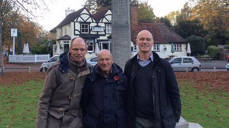 Left to right: Gert Talens, Adrian Kitchen, and Simon Kitchen. Picture: Submitted by Gert Talens.