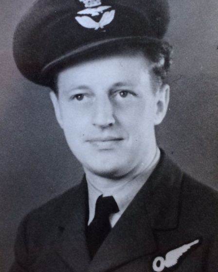 Alfred Kitchen became trapped in the plane's escape hatch and fell unconscious from smoke inhalation